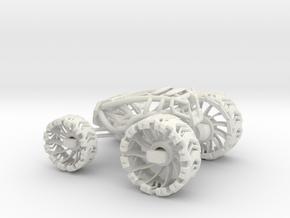 ~Leafspring Buggy V1 T1 in White Natural Versatile Plastic