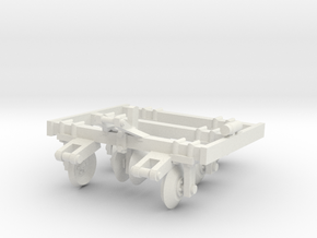 1/64 Track Closer in White Natural Versatile Plastic