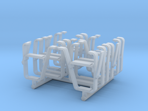 Q Scale (1:45) CTA Step Ladders in Smooth Fine Detail Plastic