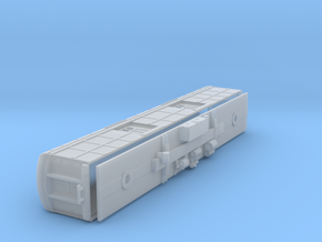 N-scale (1/160) PRR B60b Baggage Car Square Window in Frosted Ultra Detail
