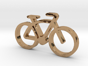VitaVelo-FatBike in Polished Brass