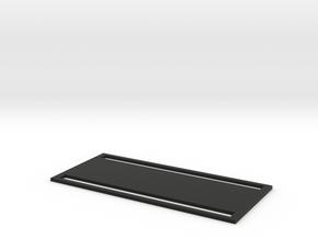 ROTS Belt Box Mesh Back Plate in Black Natural Versatile Plastic