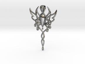 Spirit of Fantasy Faire in Fine Detail Polished Silver