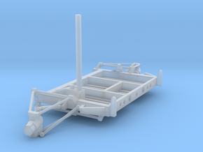 07D-LRV - Aft Platform Turning Right in Smooth Fine Detail Plastic