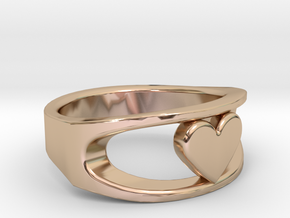 Lite Ring model 2.1 in 14k Rose Gold