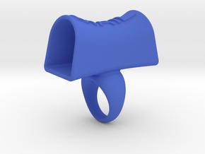Message of love 13 in Blue Processed Versatile Plastic