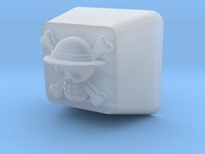 Luffy Cherry MX Keycap in Smoothest Fine Detail Plastic