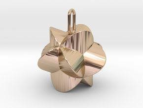 Pendant-c-4-3-20-45-p1o1 in 14k Rose Gold Plated Brass