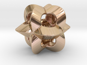 Pendant-c-4-3-20-p1o in 14k Rose Gold Plated Brass