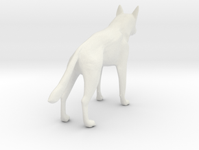 German shephard in White Natural Versatile Plastic