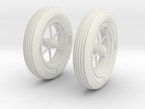 1-16 Wheels For M3A4 Handcart in White Strong & Flexible