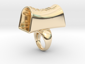 Message of love 15 in 14K Yellow Gold