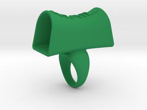 Message of love 16 in Green Processed Versatile Plastic