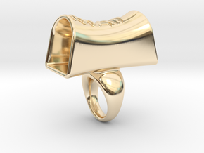 Message of love 17 in 14K Yellow Gold