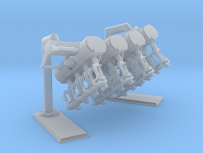 Full inverted coaster Size 1 in Smooth Fine Detail Plastic