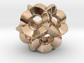 Pendant-c-6-5-10-p1o in 14k Rose Gold Plated Brass