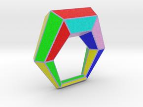 0106 Antisymmetric Torus (p=1; u=6; v=6) 5cm #013 in Full Color Sandstone