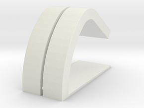 Charging Stand  for Apple Watch  in White Natural Versatile Plastic