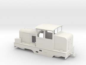 Locotracteur X Om 1:45 in White Natural Versatile Plastic