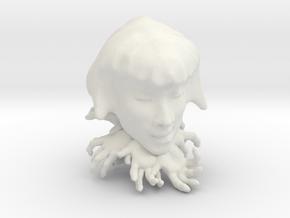 Listener in White Natural Versatile Plastic