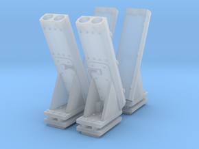 1:72 MK53 NULKA Launchers - set of 2 in Smooth Fine Detail Plastic