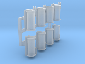 Causeway loading cable guides  in Smooth Fine Detail Plastic