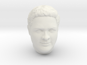 PraveenFace 3D  in White Natural Versatile Plastic