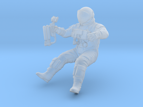 Gemini EVA Astronaut / 1:48 in Smoothest Fine Detail Plastic