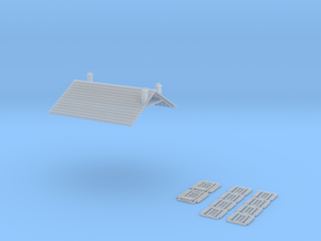 Cafe 2 - 3 Storey - FUD - Nm - 1:160 in Smooth Fine Detail Plastic
