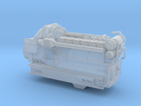 4mm Sulzer 12 LDA 28-C-1 in Smooth Fine Detail Plastic
