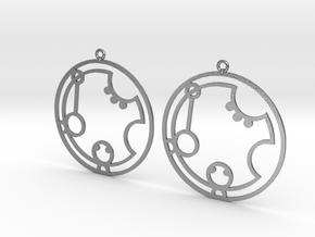 Katrina - Earrings - Series 1 in Raw Silver