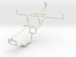 Controller mount for Xbox One & NIU Tek 4D2 in White Natural Versatile Plastic