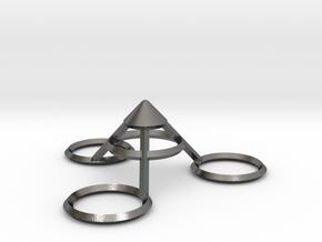 Eiffel Tower Topper in Polished Nickel Steel