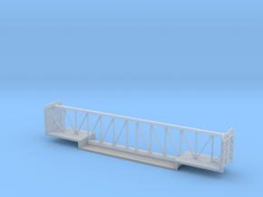Depressed Centerbeam Car - Zscale in Smooth Fine Detail Plastic