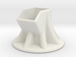 Julep Nail Polish Tilt Holder in White Natural Versatile Plastic