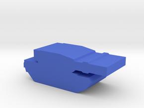 Game Piece, Blue Force M-1Tank in Blue Processed Versatile Plastic
