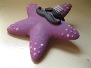 Indian Hippie Starfish (coloured) in Full Color Sandstone
