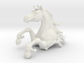 Skin HorseTest7 in White Natural Versatile Plastic: Medium