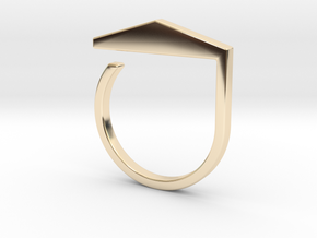 Adjustable ring. Basic model 3. in 14K Yellow Gold
