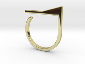 Adjustable ring. Basic model 7. in 18k Gold