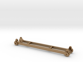 Coupling rods for North Staffordshire Railway B cl in Raw Brass