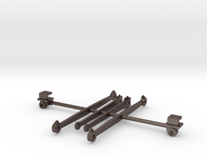Rods and crossheads for LT&SR 442t locomotive in Stainless Steel