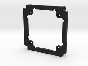 Ardusat DemoSat Base (1 of 4 part cube) in Black Natural Versatile Plastic