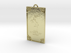 Game of Thrones - Baratheon Pendant in 18k Gold