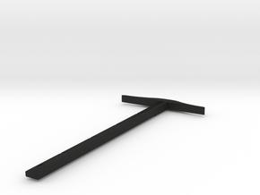 a r c h i t e c t s series - Pendent T-Square in Black Acrylic