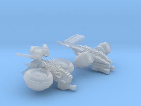 MOD S   DF-VTOLs in Smooth Fine Detail Plastic