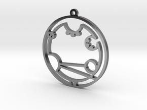 Andrew - Necklace in Premium Silver