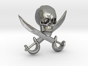 Pirate in Natural Silver