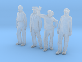 1:48 scale Standing Figure pack FUD in Smooth Fine Detail Plastic