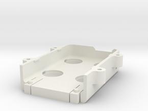 MobiusStandardLens 250-2-Boss-Extrude2 in White Natural Versatile Plastic